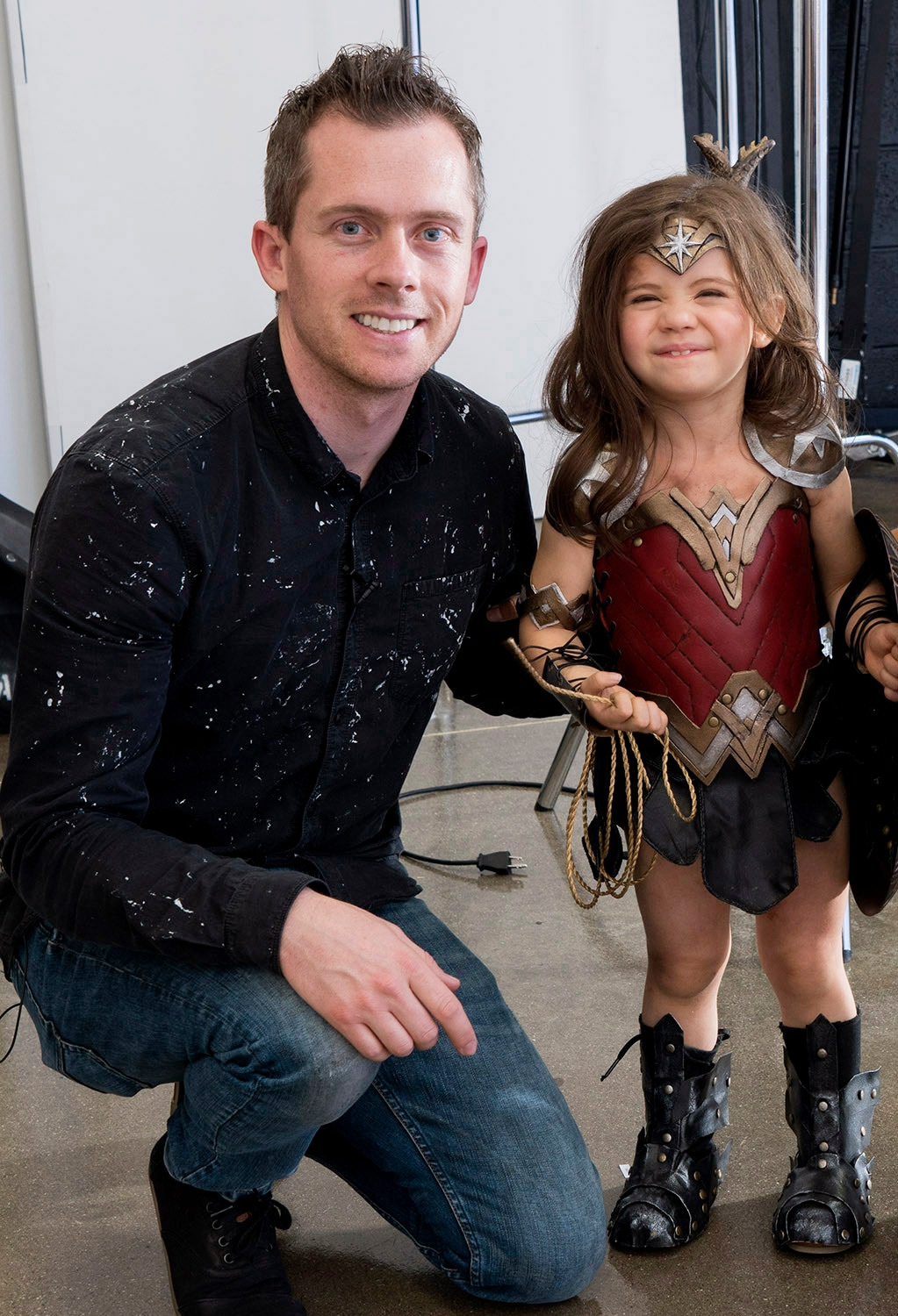 Utah Dad Josh Rossi Spends $1,500 on 3-Year-Old Daughter's 'Wonder Woman' Halloween Costume to Spread Message That 'Girls Can Do Anything' 10/28/16 Josh Rossi