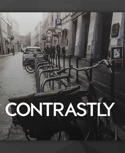 contrastly