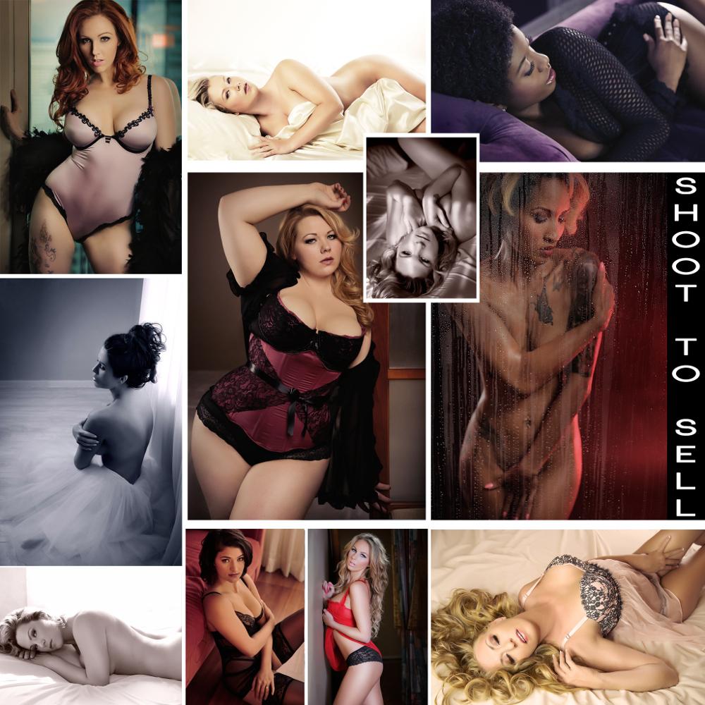 boudoir posing