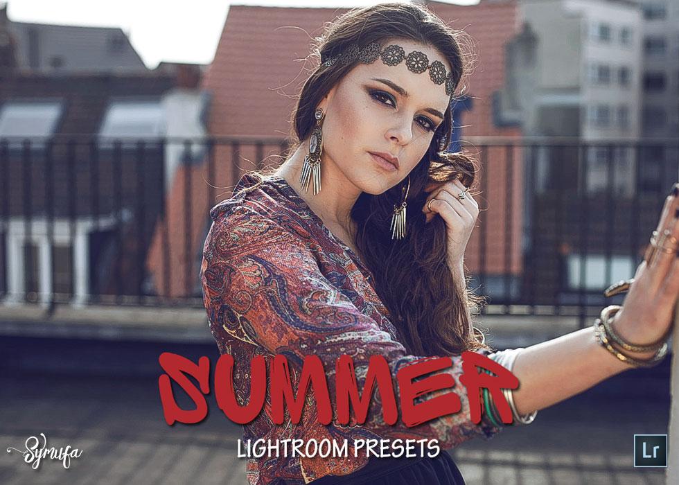 summer lightroom presets bundle