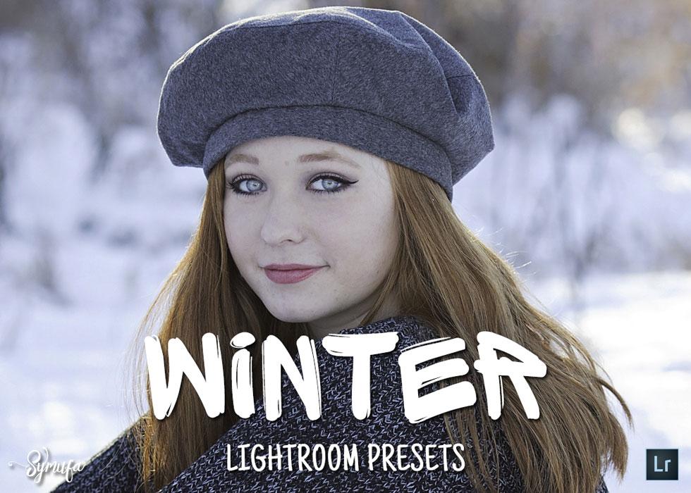 winter lightroom presets bundle
